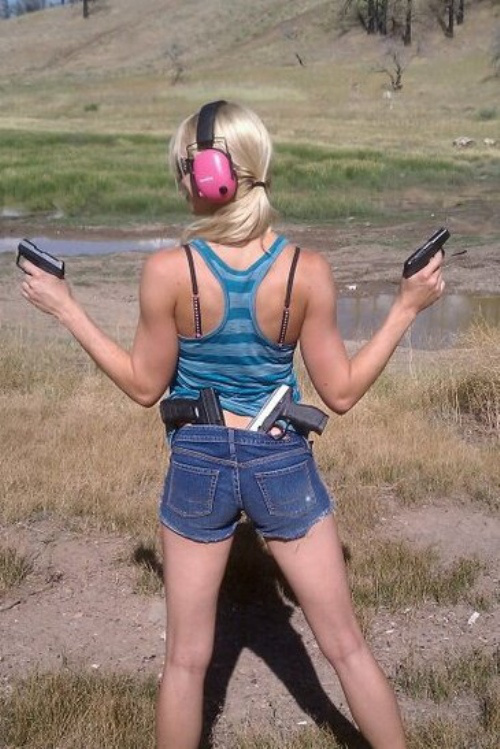 Well Armed Girl