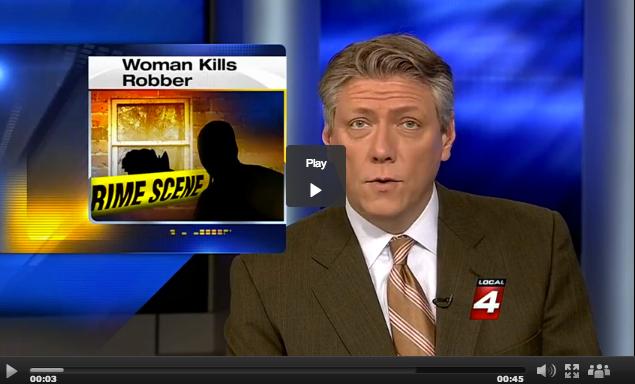 Woman Kills Home Invader
