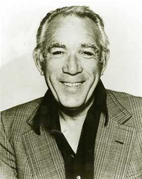 Actor, Anthony Quinn