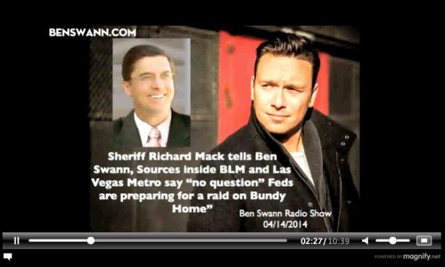 Ben Swann  Richard Mack BLM Raid