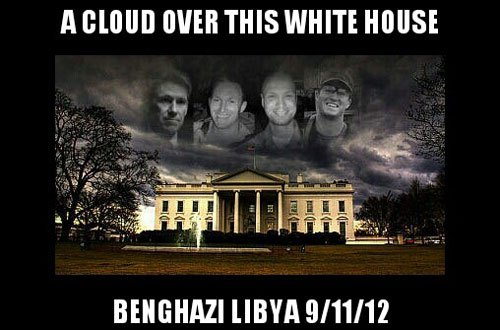 benghazi a cloud over the white house