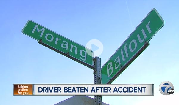 Driver Beaten Detroit