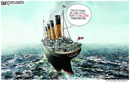 Obamacare Titanic