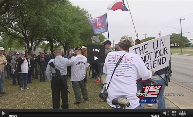 Open Carry Texas Protests SAPD
