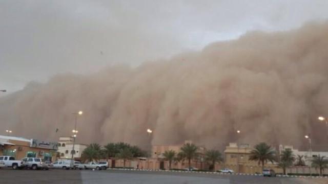 riyadh sand storm