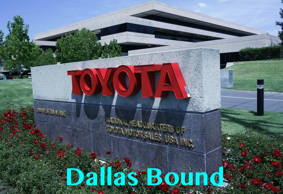 Toyota Is Dallas Bound