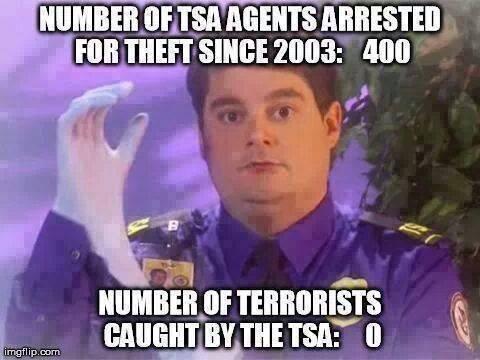 TSA Arrests