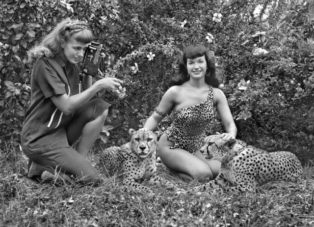 Betty Page Bunny Yeager