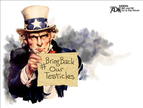 #BringBackOurTesticles