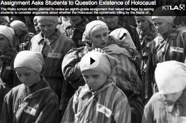 denying that the holocaust essay Denying the holocaust: what she calls holocaust denial, and debating there appeared in numerous daily papers across the country an essay by.