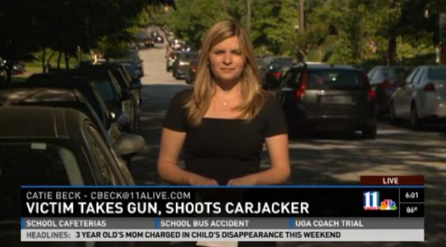 carjacker shot