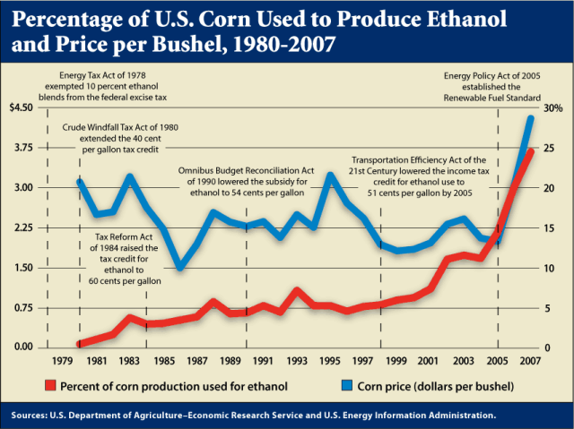 Corn v Ethanol