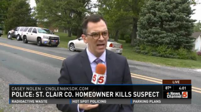 HOMEOWNER Kills Burglar