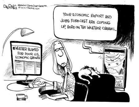 John Deering Weather:Jobs