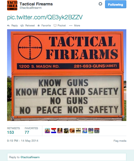 Know Guns Know Peace
