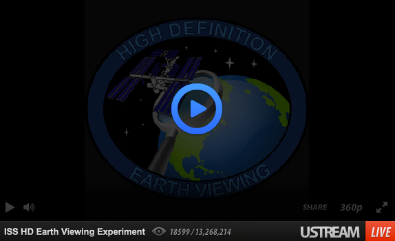NASA HD Livestream Earth