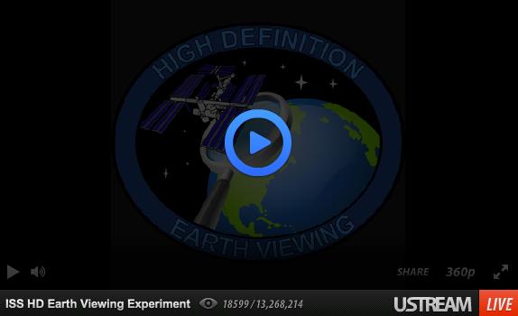 NASA HD Livestream Earth