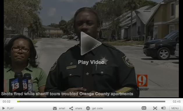 Shots Fired Near Sheriffs Meeting