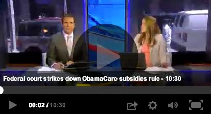 Obamacare Subsidies Illegal