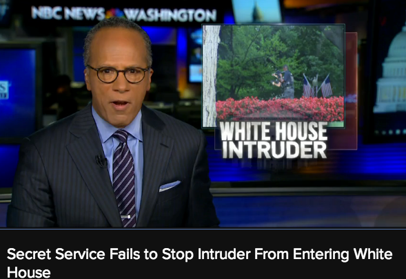White House Intruder Armed
