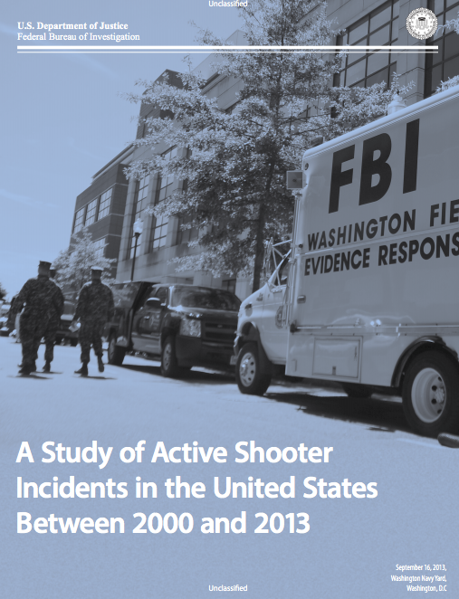 FBI:CDC Mass Shooting Report