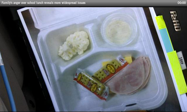 Michelle's School %22Lunches%22