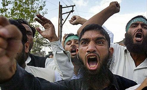 Muslim Rage Boy