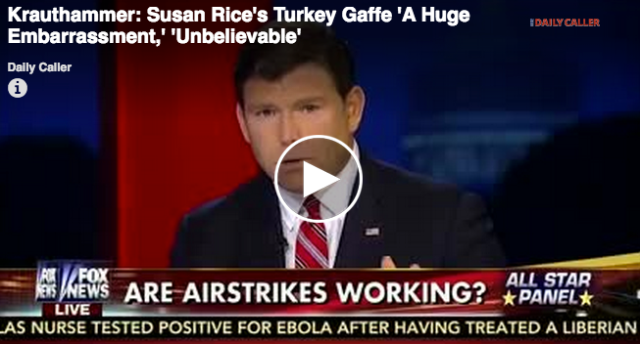 Rice's Huge Turkey Gaffe