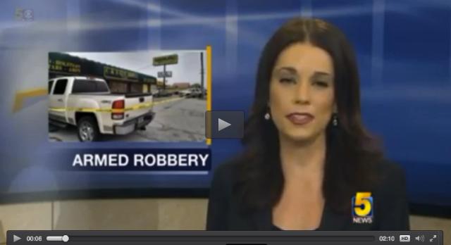 Granny Shoots Robber