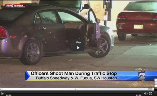 Houston Man Shot By Cops