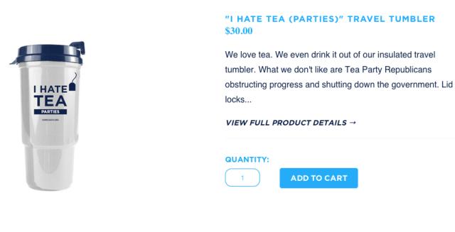 I Hate Tea Parties