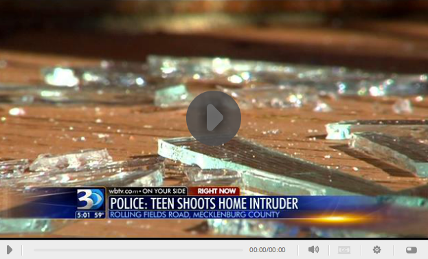 Teen Shoots Home Invader