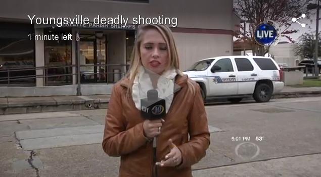 Gun Store Robber Shot Dead